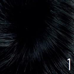 RASTA POSTIZA de cabello sintético Tono 1 Cabello artificial