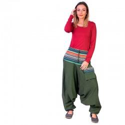 Pantalon Afgano Étnico