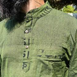 Camisa Hippie de Manga Larga