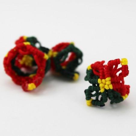 Abalorio Flor de Jamaica